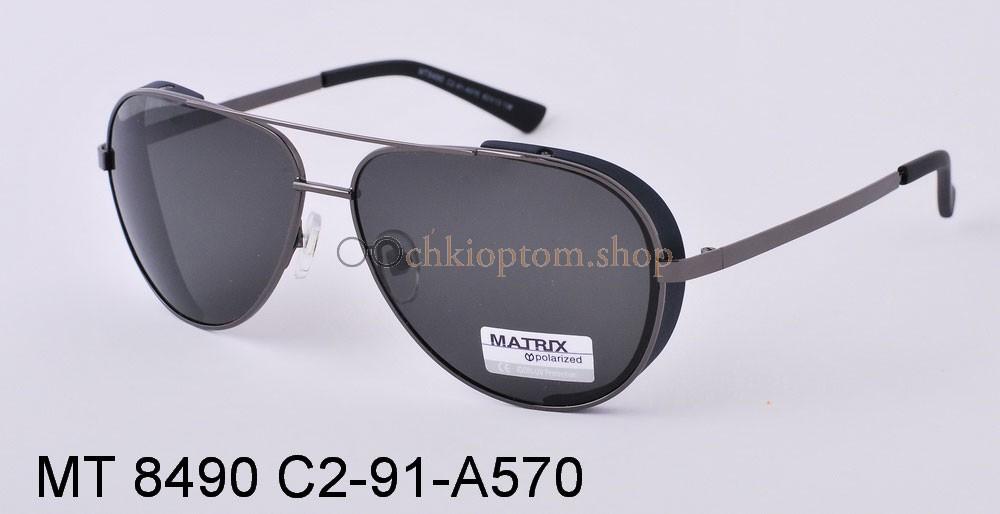 Смотреть фото Мужские Oчки Matrix MT8490